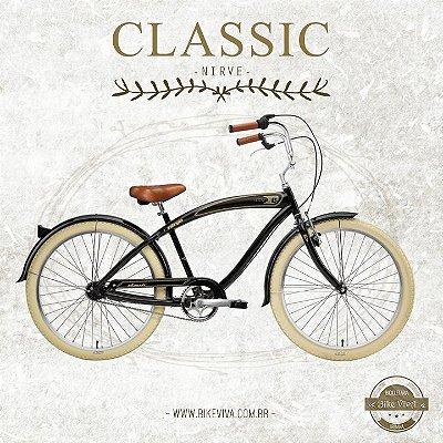 Bicicleta Retrô Nirve Classic Mem 7V 3534