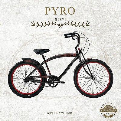 Bicicleta Retrô Nirve Pyro 3V