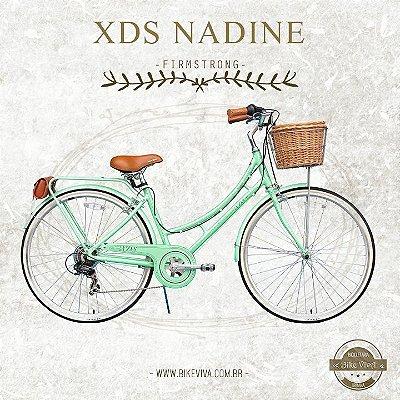 Bicicleta Retrô Firmstrong XDS Nadine Green Ment 7V