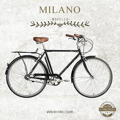 Bicicleta Retrô Novello Milano