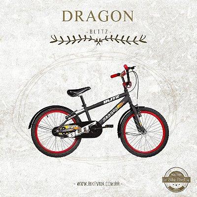 Bicicleta Infantil Blitz Dragon 20 (PROMOÇÃO, POR R$ 750,00 SOMENTE À VISTA)