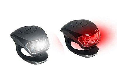 Kit Sinalizador LED Silicone Dianteiro e Traseiro Xplore