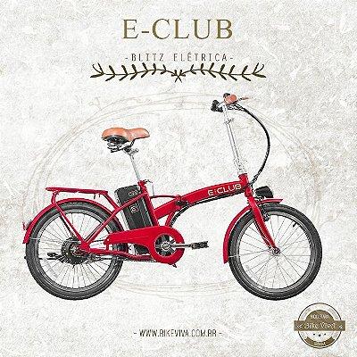 Bicicleta Eletrica Blitz E-Club 201