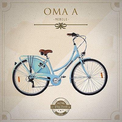 Bicicleta Retrô Mobele Oma A 28 Classic