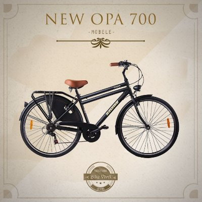 Bicicleta Retrô Mobele New Opa 28