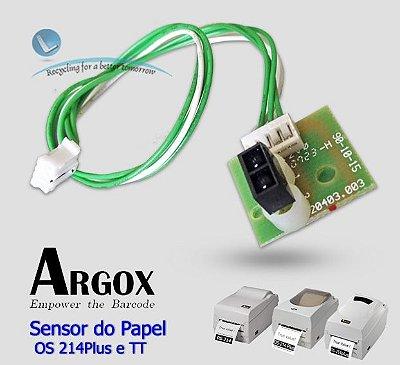Sensor do papel Argox Os214 (Todos os modelos TT e Plus)