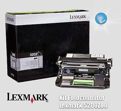 Kit Fotocondutor Lexmark 52D0Z00|520Z|