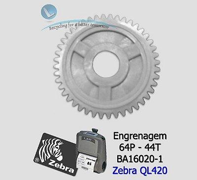 Engrenagem Zebra QL420 (64P-44T) Zebra BA16020-1