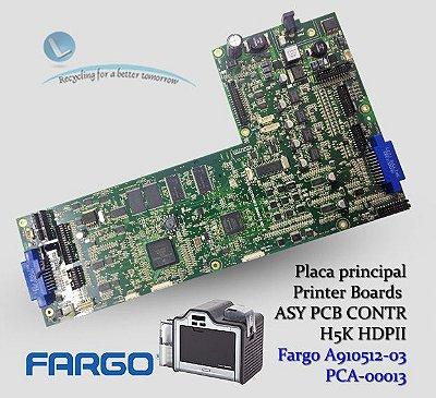 Placa Principal Fargo HDP5000|HDPii |A910512-03