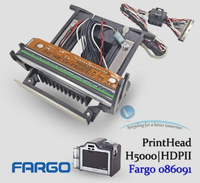 HDP5000|HDPii Cabeça de impressão Fargo |086091