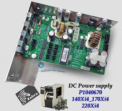 Placa Fonte DC Zebra 140Xi4/ 170Xi4/ 220Xi4