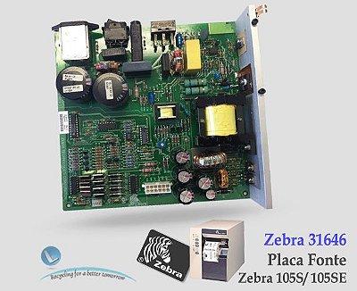 Placa Fonte Zebra 105SE| 31646