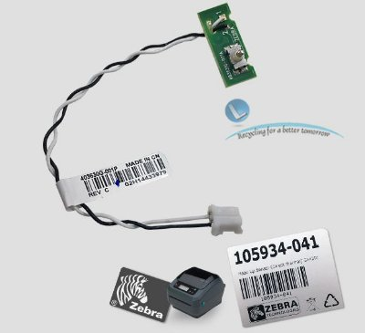 Sensor tampa aberta Zebra GX420D|105934-041