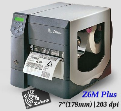 Impressora de etiquetas Zebra Z6M Plus