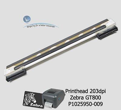 Cabeça de Impressão Zebra GT800|P1025950-009