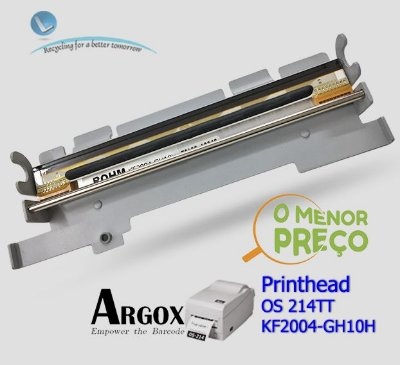 Cabeça de impressão Argox OS214 TT | KF2004-GH10H