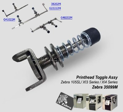 Printhead Toggle Assy Zebra XI3/ Xi4 Series/ ZT510