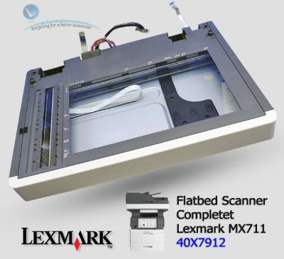 Flatbed Scanner Complete Lexmark MX711 | 40X7912