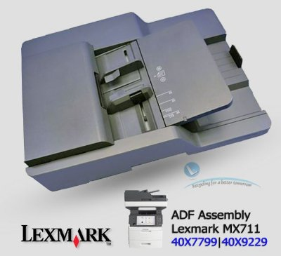 Lexmark MX711- ADF Assembly 40X7799 | 40X9229