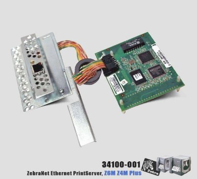 Placa de rede Interna Zebra Z4M/Z6M Plus