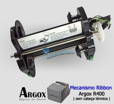 Mecanismo do Ribbon Argox R400