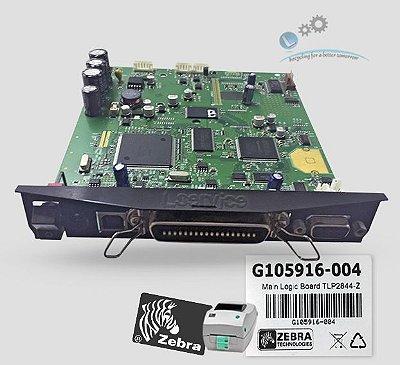 Placa Principal Zebra TLP2844Z |G105916-004