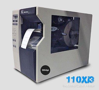 Impressora de etiquetas Zebra 110Xi3 Plus |300dpi |Rebobinador Full