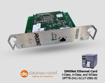 Placa de rede Datamax DMXNet | OPT78-2411-01