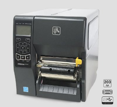Impressora de etiquetas Zebra ZT230 + Peel Off