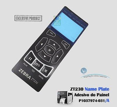 Adesivo do Painel (Name Plate) Zebra ZT230