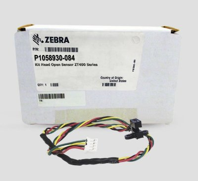 Head Open Sensor Zebra ZT400 Series |P1058930-084
