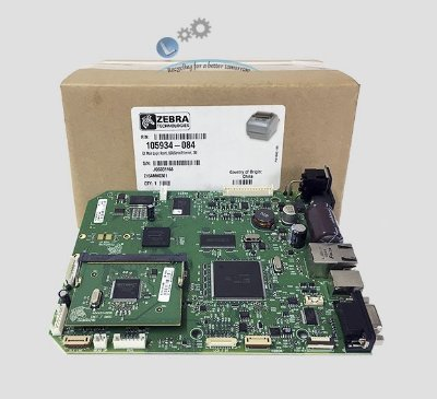 Placa Principal Zebra GX420D/T/ GX430 | USB/Serial/Ethernet, ZBI|105934-084