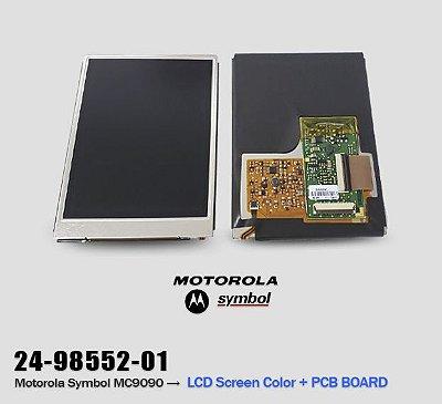 LCD Display + PCB Board Motorola Symbol MC9090