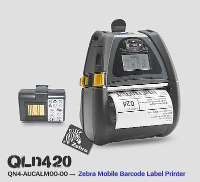 Impressora Zebra Mobile QLn420 Bluetooth
