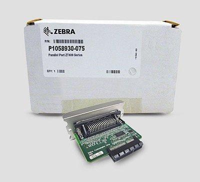 Porta Paralela Zebra ZT410/ZT411/ZT420/ZT421
