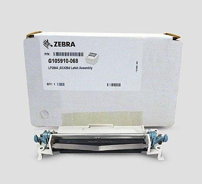 Mecanismo da cabeça de impressão Zebra LP2844/GC420D |G105910-068