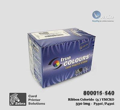 Ribbon Zebra Color YMCKO 330 imagens | 800015-540