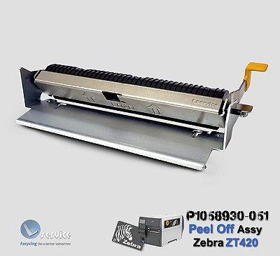 Peel Off Zebra ZT420 | P1058930-051
