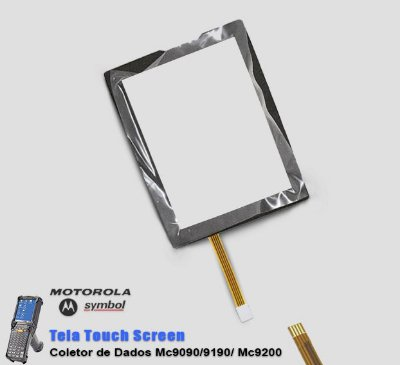 Tela Touch Screen Coletor de Dados MC9090/MC9190/MC9200