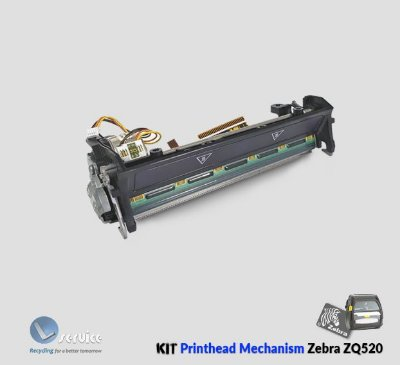 Kit printhead Mechanism Zebra ZQ520