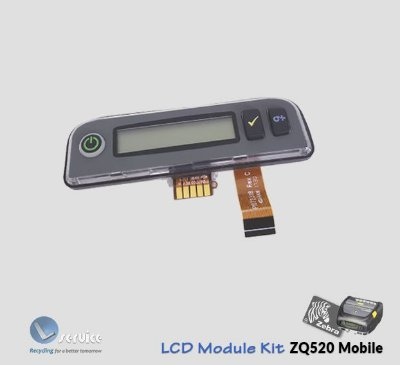 Painel LCD Module Kit Zebra ZQ500 series