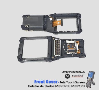 Front cover +Tela Touch Screen Motorola Symbol MC9090/MC9190