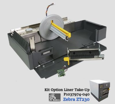 Kit Opcional destacador + rebobinador de Liner Zebra ZT230