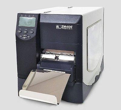 Impressora Zebra ZM400 + Cutter (cortador automático)