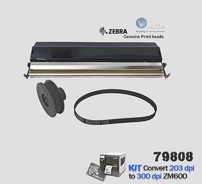 Kit de Conversão Zebra ZM600 de 203dpi → 300dpi |79808