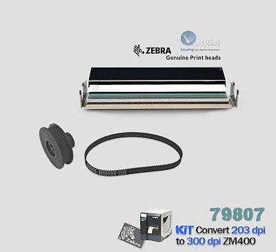Kit de Conversão Zebra ZM400 de 203dpi → 300dpi
