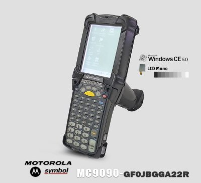 Coletor de Dados Motorola-Symbol MC9090G LCD Mono → Windows® CE 5.0