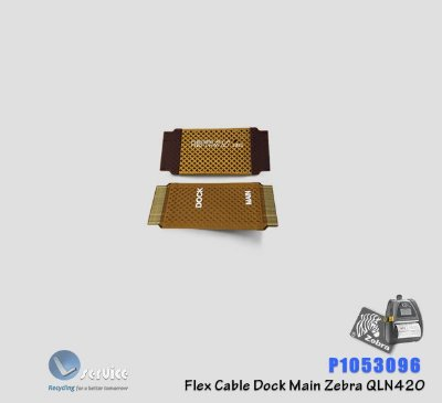 Flex Cable Dock Main Zebra QLn420