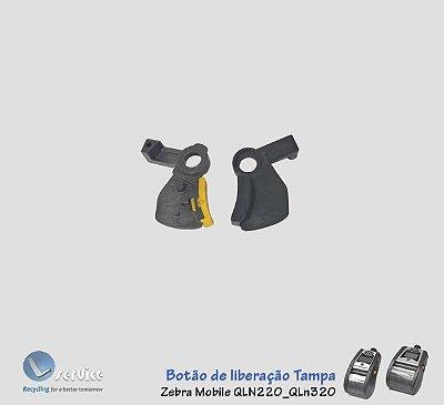 Cover release button Zebra QLn220_QLn320