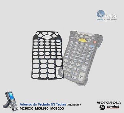 Adesivo do teclado 53 teclas MC9090/MC9100/MC9200